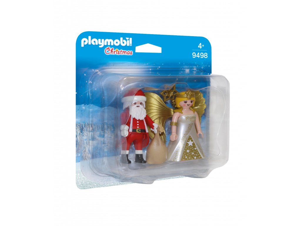 Playmobil Duo Pack Santa a Anděl