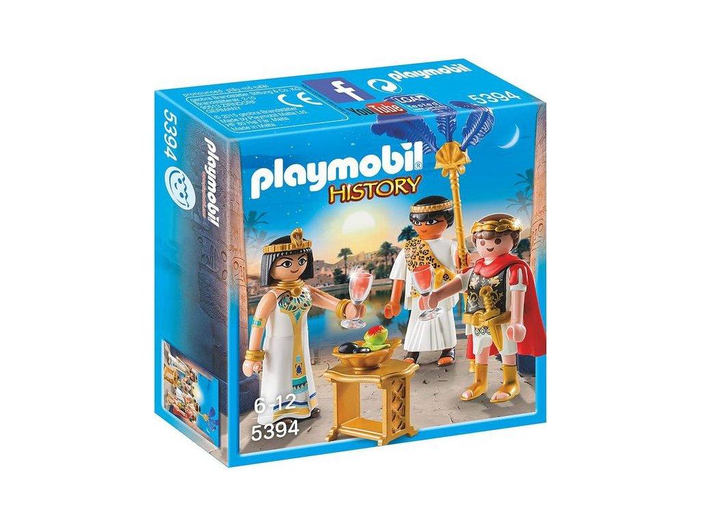 Playmobil Caesar a Kleopatra