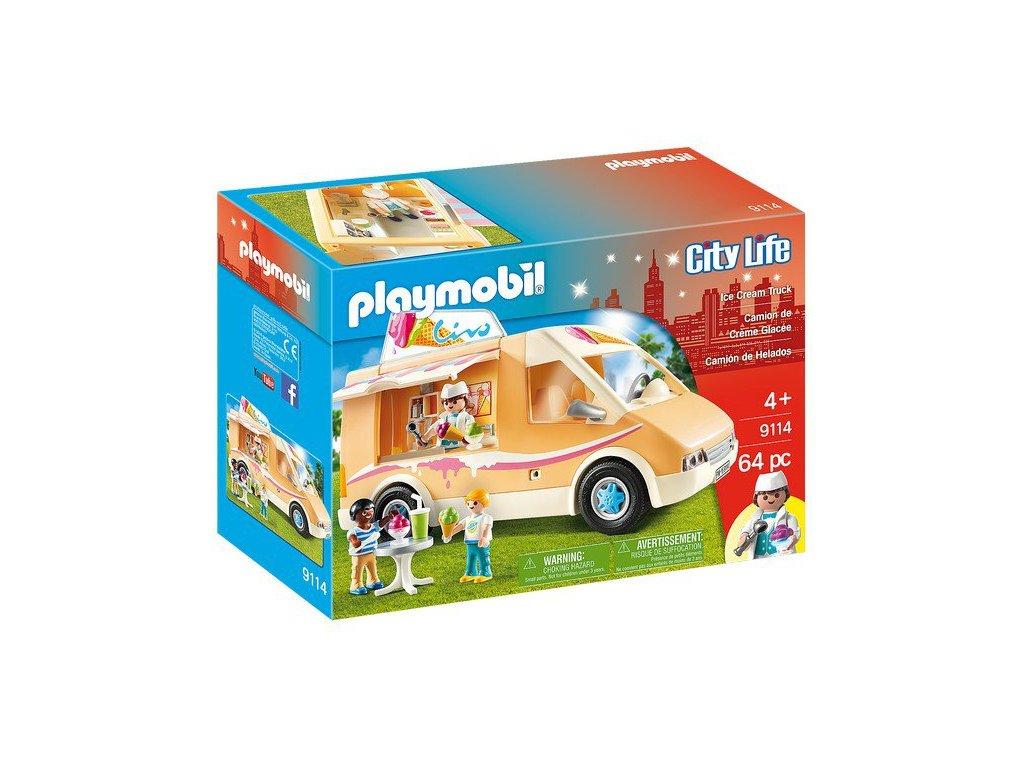 Playmobil Zmrzlinářské auto