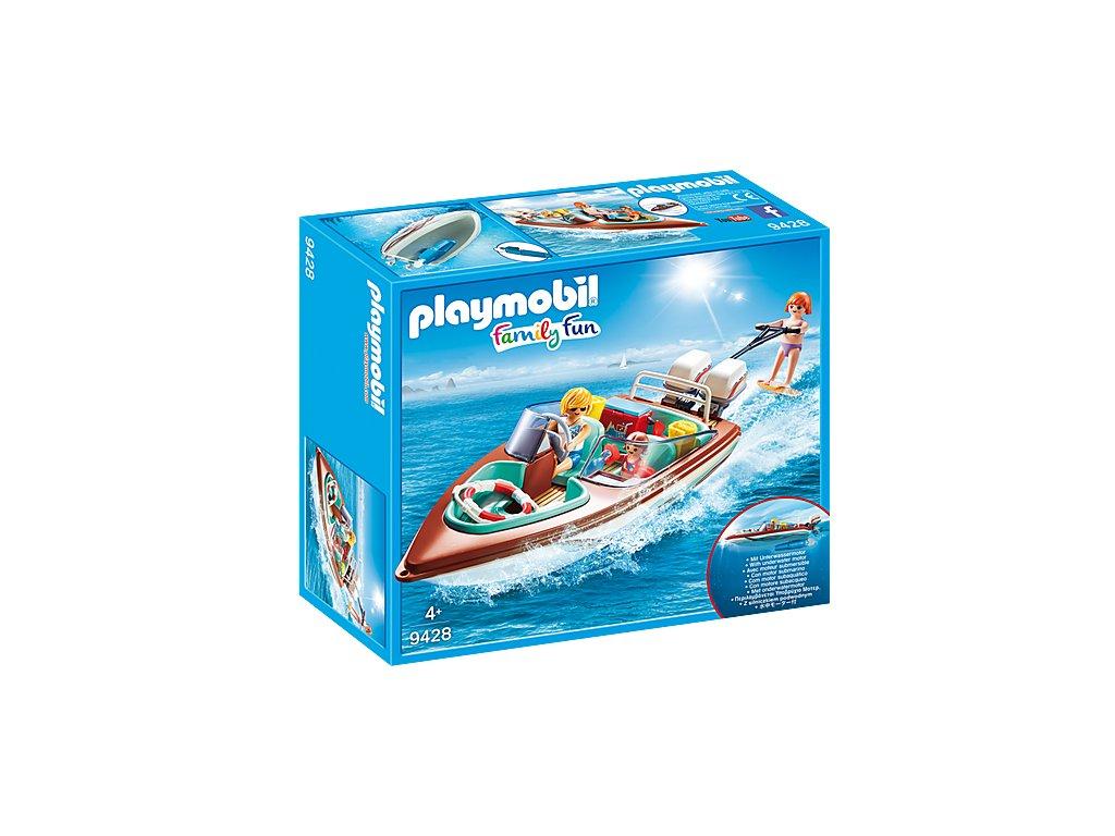Playmobil Motorový člun s podvodním motorem