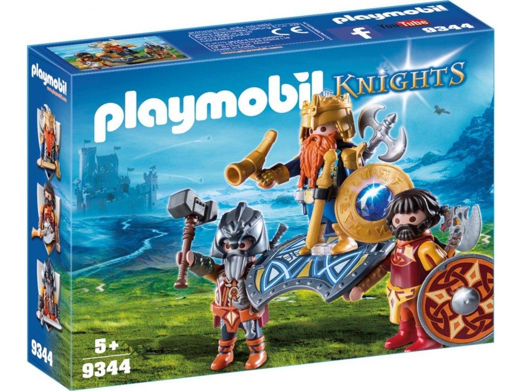 Playmobil Král trpaslíků s ochránci