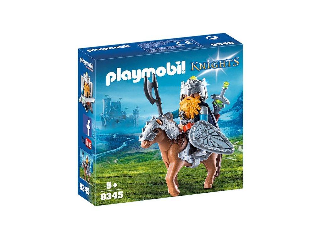 Playmobil Trpasličí bojovník na poníkovi