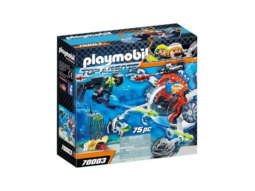Playmobil Spy Team Ponorka
