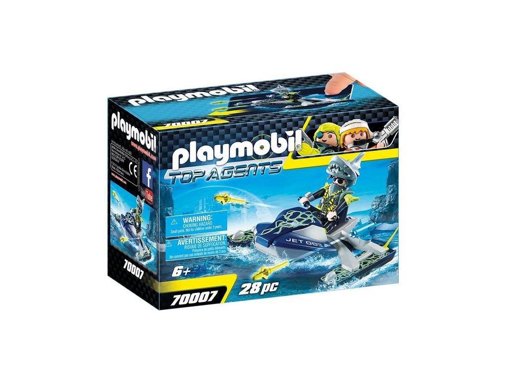 Playmobil TEAM S.H.A.R.K Raketový skútr