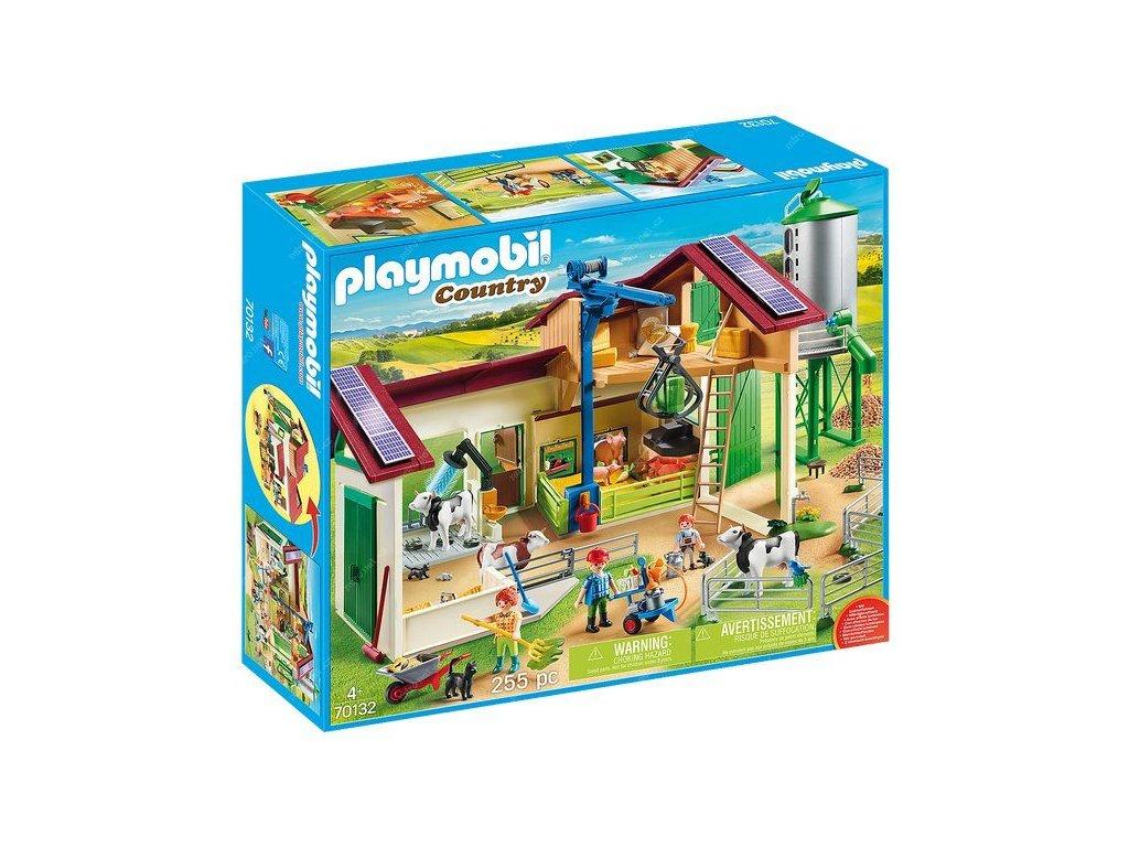 Playmobil Velká farma se silem