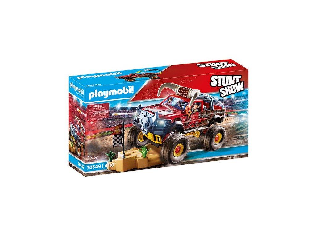 Playmobil Kaskadérská show Monster Truck Bull