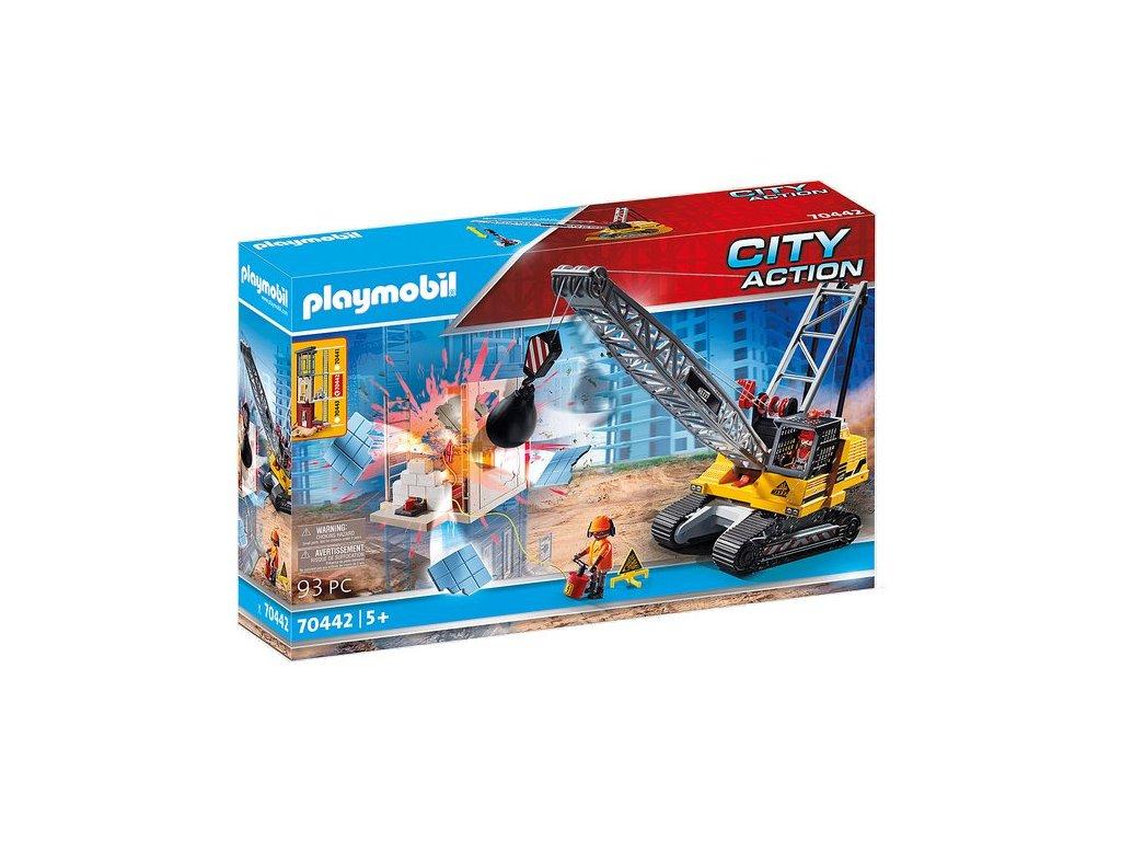 Playmobil Pásový jeřáb