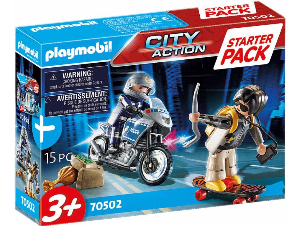 Playmobil Starter pack Policie doplňkový set