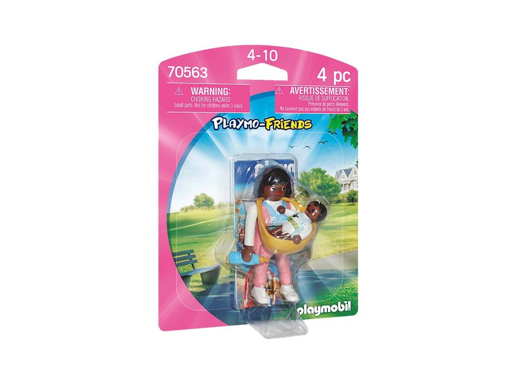 Playmobil Maminka s nosítkem na dítě