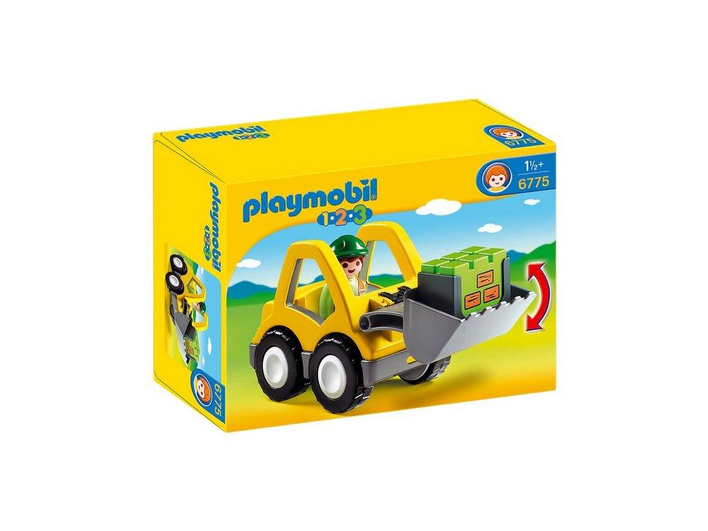Playmobil Čelní nakladač