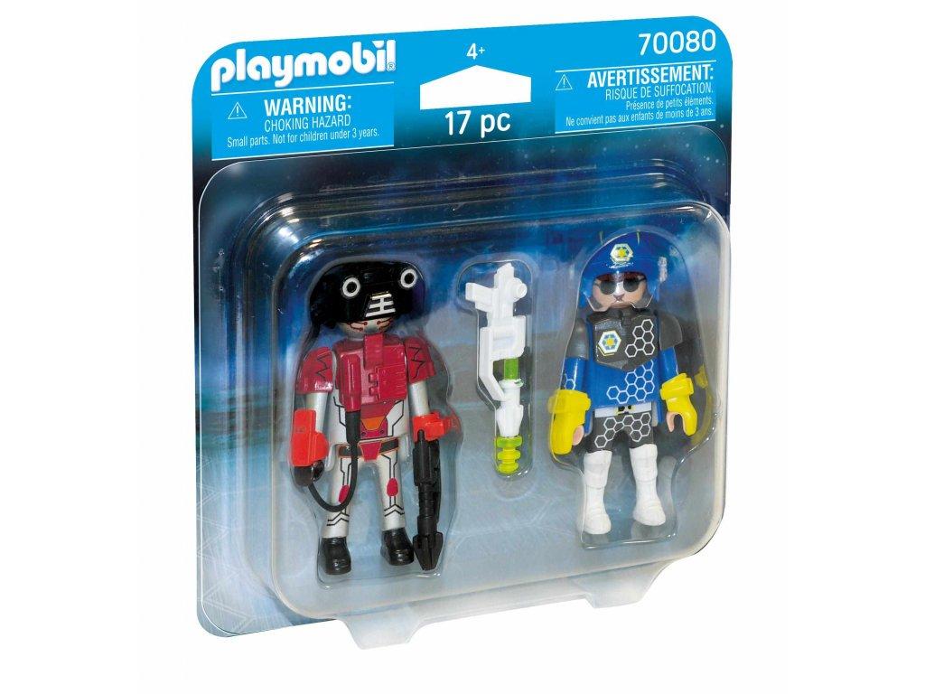 Playmobil Vesmírný policista a zloděj