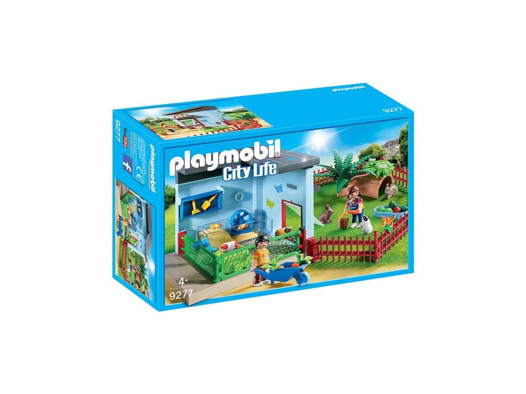 Playmobil Chovná stanice pro malá zvířátka