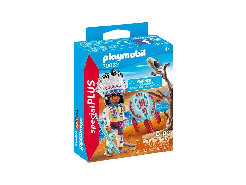 Playmobil Indiánský náčelník