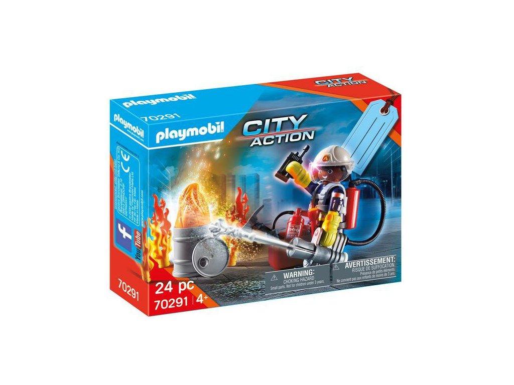 Playmobil Dárkový set hasiči