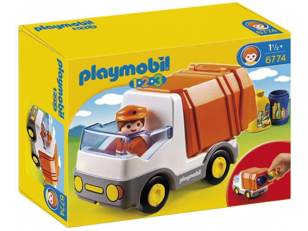 Playmobil Popelářský vůz