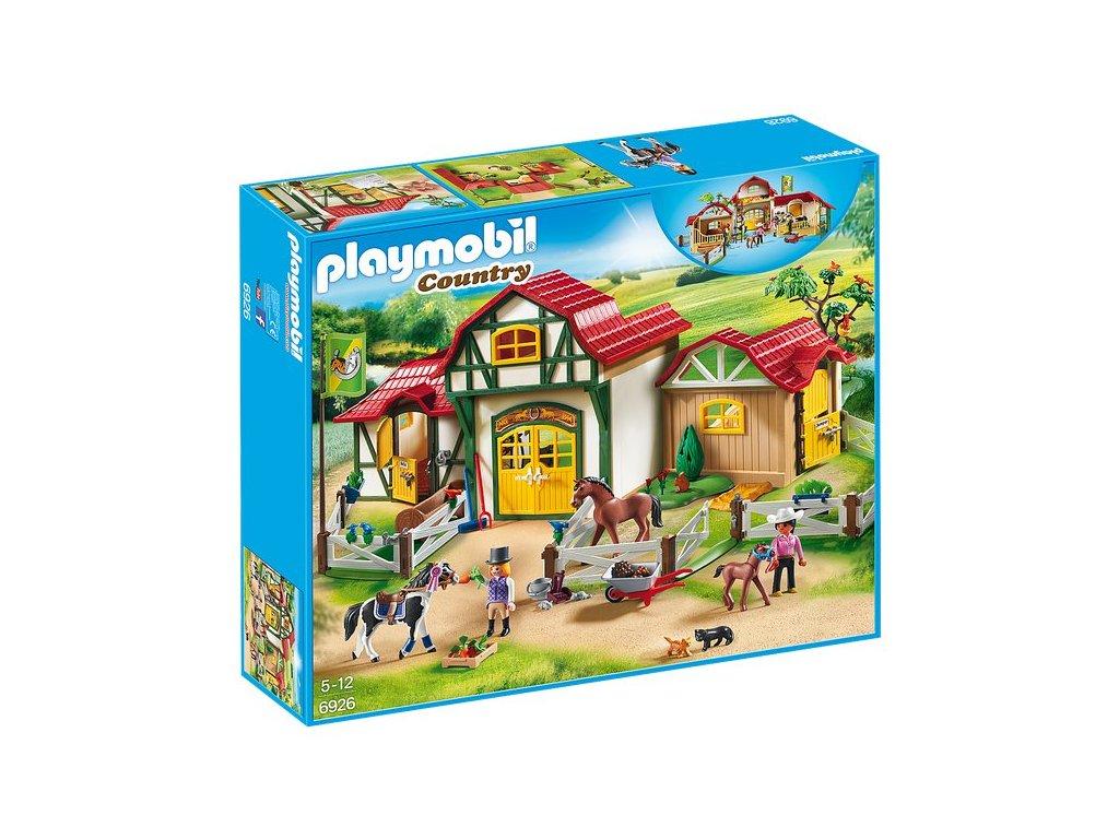 Playmobil Velká koňská farma