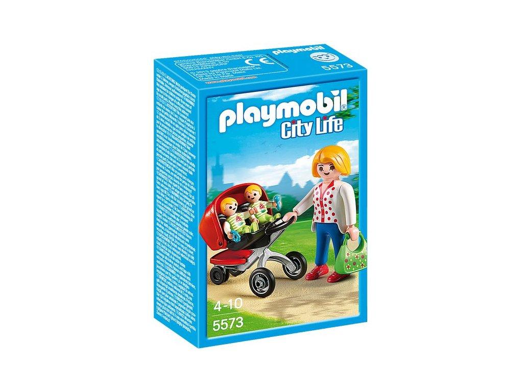 Playmobil Kočárek pro dvojčata