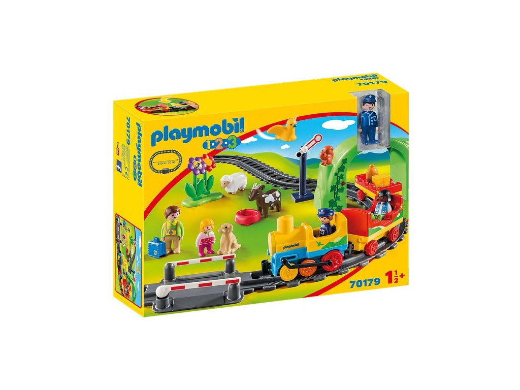 Playmobil Moje první železniční dráha