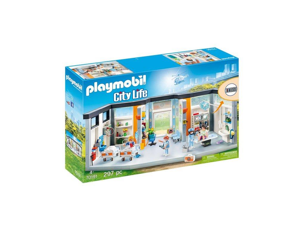 Playmobil Nemocnice s vybavením