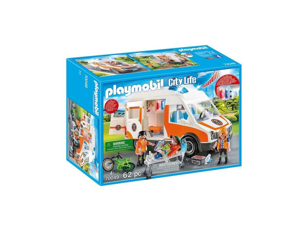 Playmobil Ambulance se světly