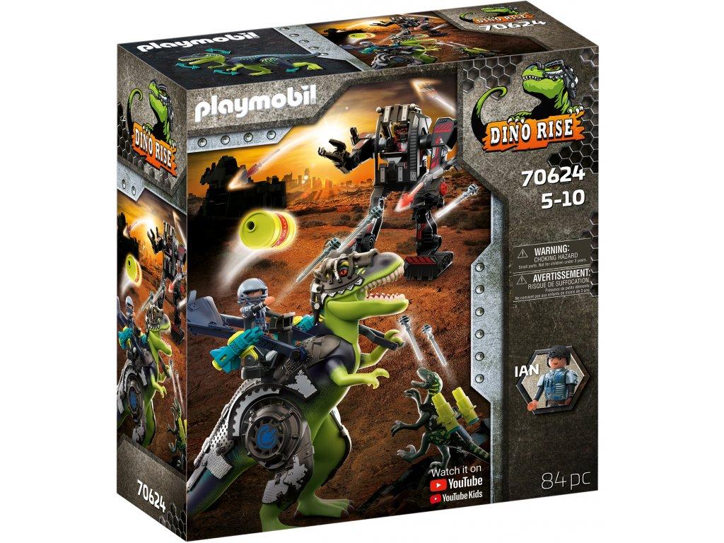 Playmobil T-Rex: Souboj gigantů