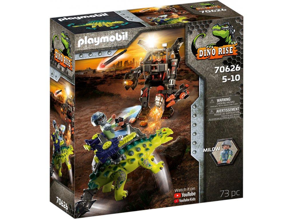 Playmobil Saichania: Obrana robota bojovníka