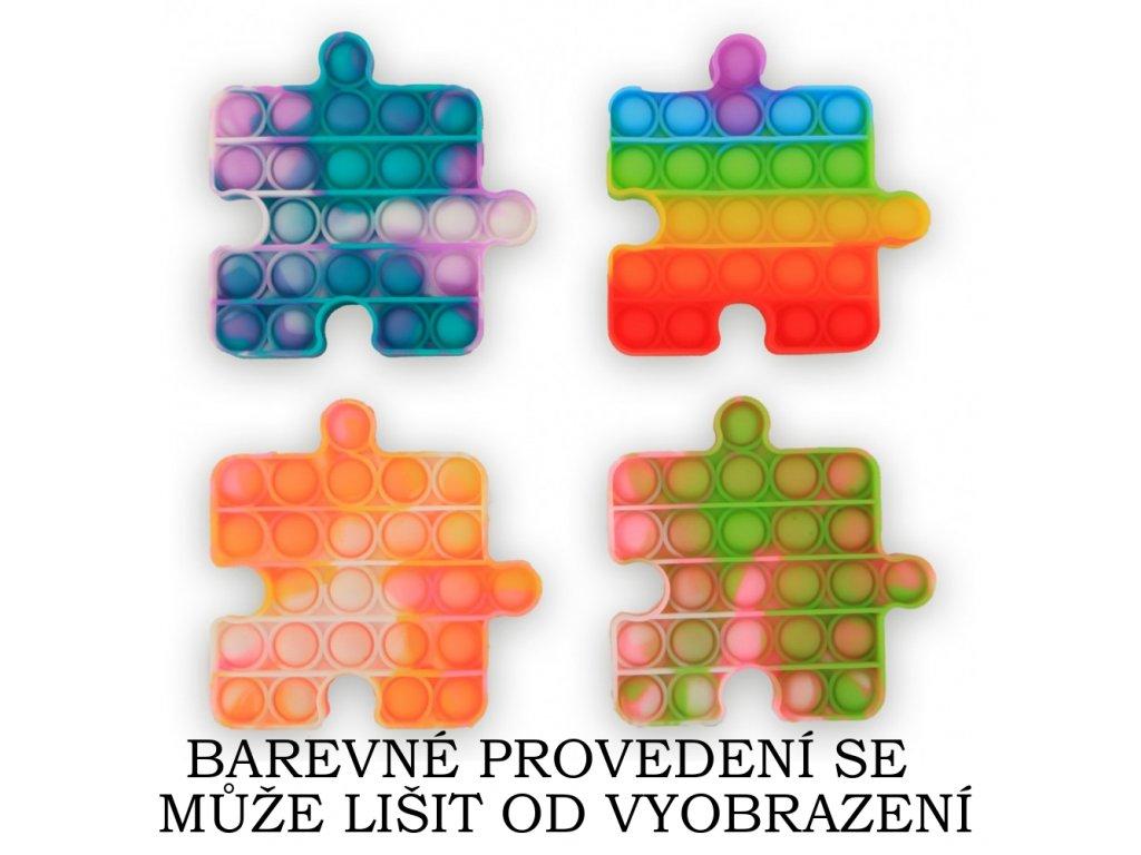 Fidget Pop It (Bubble Pops) - tvar Puzzle