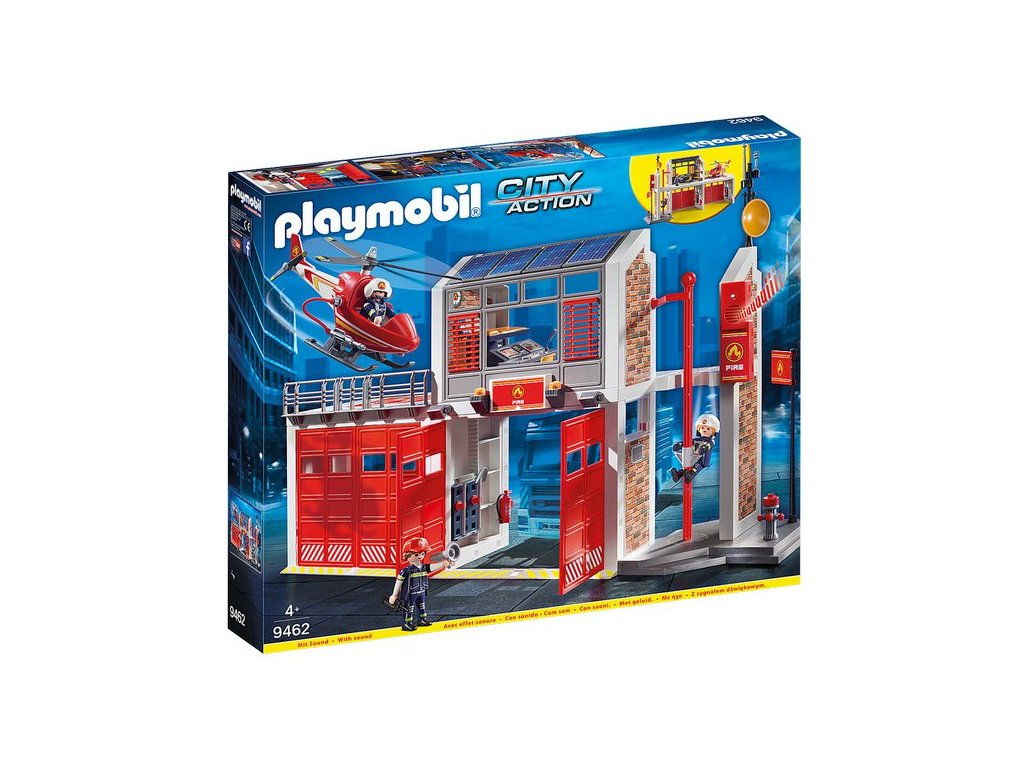 Playmobil Velká požární stanice