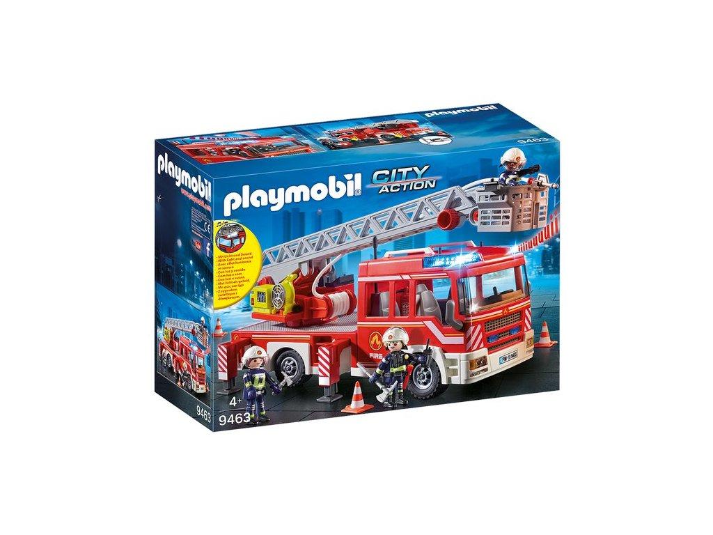 Playmobil Hasičské auto se žebříkem