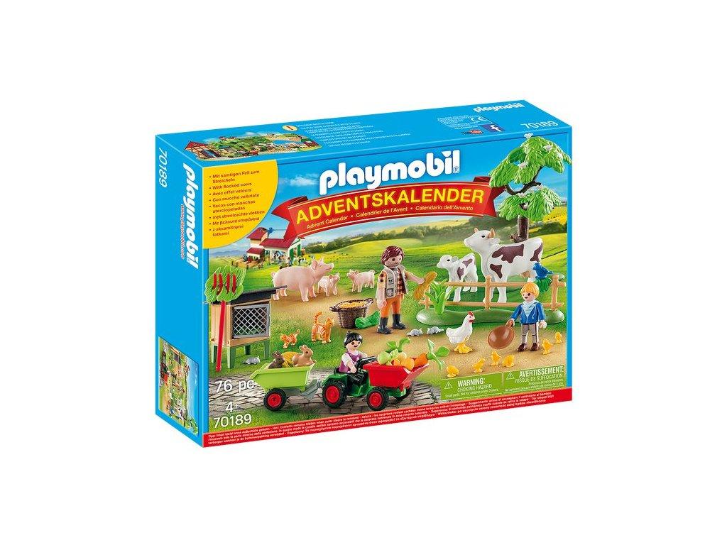 "Playmobil Adventní kalendář ""Farma"""