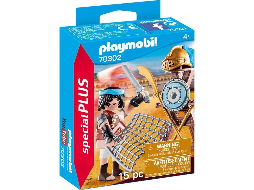 Playmobil Gladiátor se stojanem na zbraně