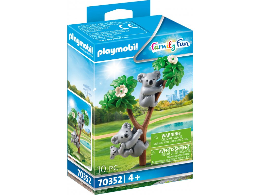 Playmobil Koaly s mládětem