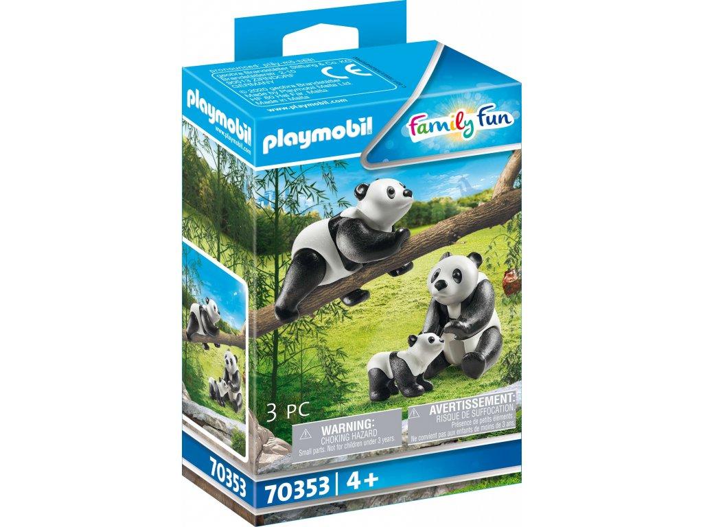 Playmobil Pandy s mládětem