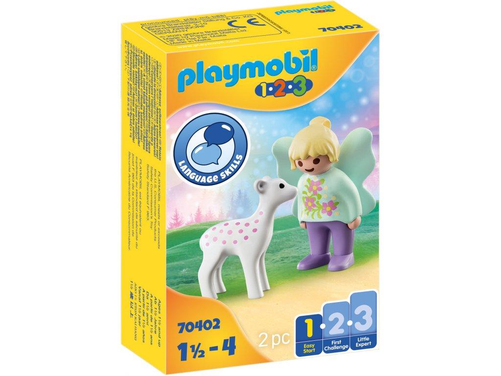 Playmobil Vílí kamarádka s kolouškem