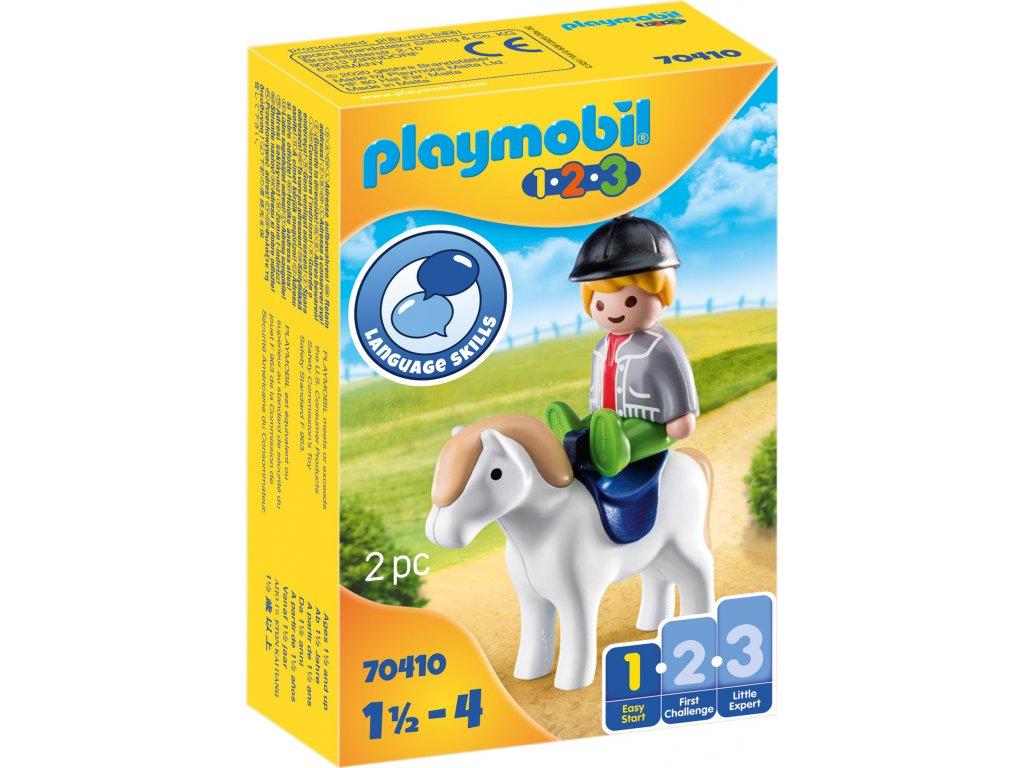 Playmobil Chlapec s poníkem
