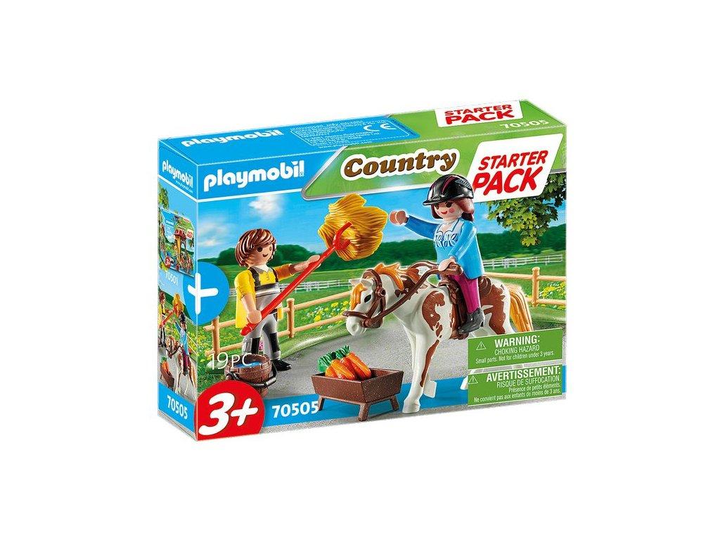 Playmobil Starter Pack Koňksá stáj doplňkový set