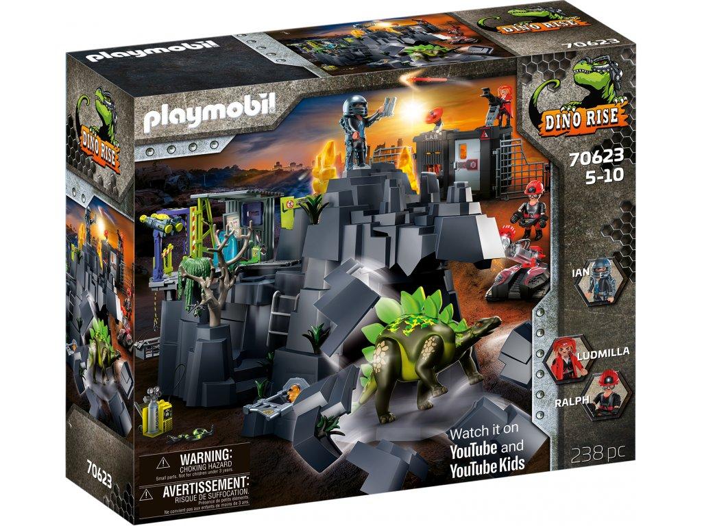 Playmobil Dino Rise Dinosauří skála
