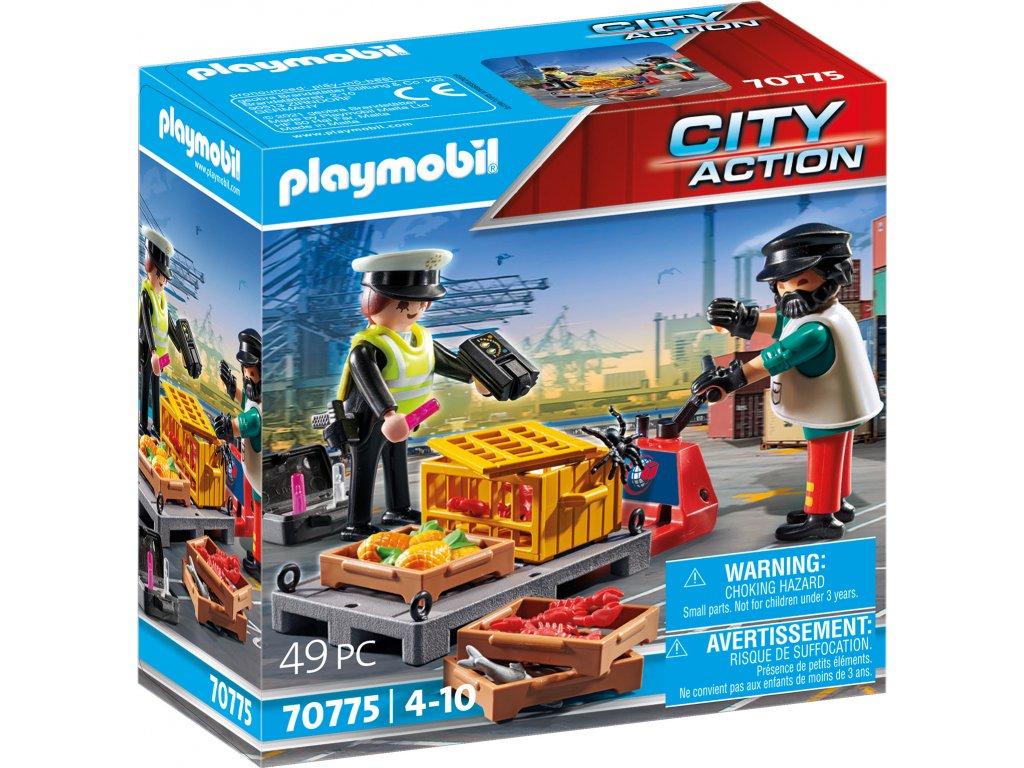 Playmobil Celní kontrola