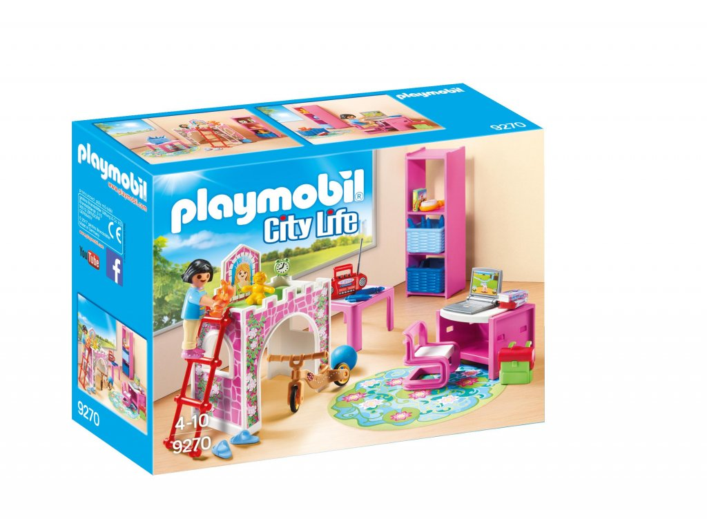Playmobil dětský pokoj