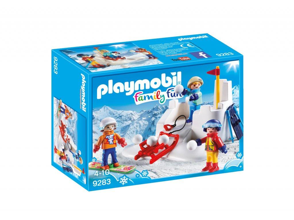 Playmobil Sněhová bitva