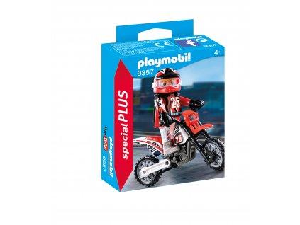 Playmobil Motokrosový závodník