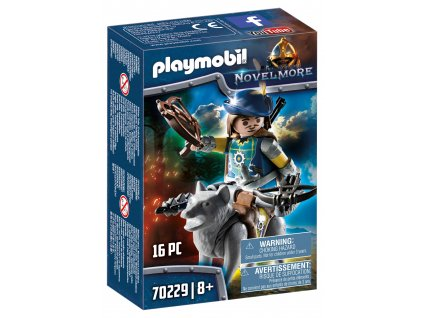 Playmobil Střelec s kuší a vlkem z Novelmore