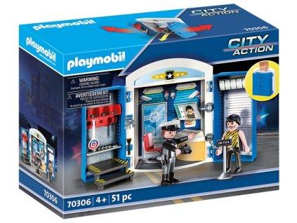 """Playmobil Hrací box """"Policejní stanice"""""""