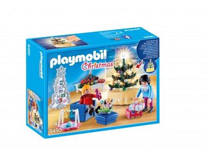 Playmobil Vánoční obývací pokoj