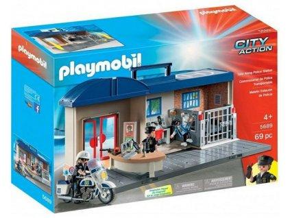 Playmobil Přenosná policejní stanice