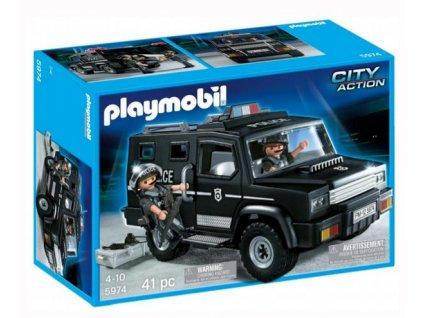 Playmobil Terénní vozidlo speciální jednotky