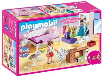 Playmobil Ložnice se šicím strojem