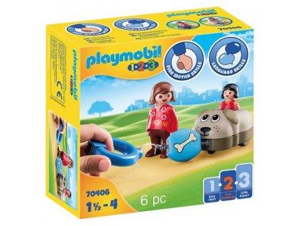 Playmobil Můj tahací pejsek
