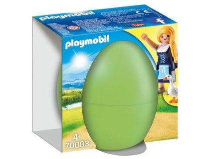 Playmobil Velikonoční vajíčko dívka s husami