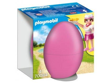 Playmobil Velikonoční vajíčko Servírka s pultem